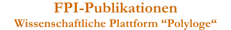 FPI-Publikationen